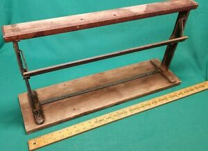 Big Vintage Bulman Paper Cutter Wrapper General Store Butcher 20 Cast Iron
