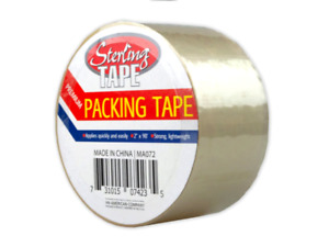 Clear Packing Tape Heavy Duty Scotch For Shipping Carton Boxes 18 Rolls