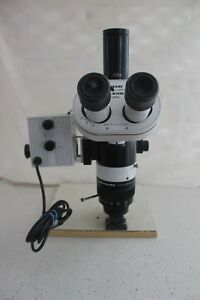 Wild Leica M420 Microscope includes C mount Light Port Stand With Leica 10445111