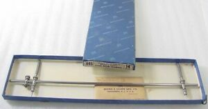 Brown Sharpe 845 Steel Beam Trammel 14 In Box Extra Points Very Minty