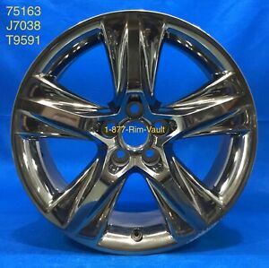 Toyota Highlander 14 15 16 17 18 Dark Clad 19x7 5 Factory Oem Rim Wheel 75163