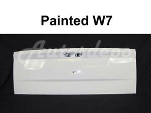 Tailgate Painted W7 White For Dodge Ram 1500 Single Rear Wheel 2009 2018