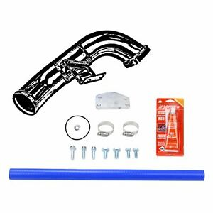 Egr Delete Kit W Intake Elbow Fit 2004 5 2005 Chevy Gmc 6 6l Diesel Lly Duramax