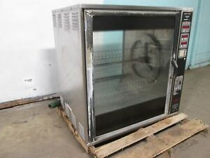 henny Penny H d Commercial Digital 208v 3ph Electric Chicken Rotisserie Oven