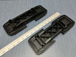 Set Of 2 Dura stilts Floor Plates W rubber Sole Pads Screws