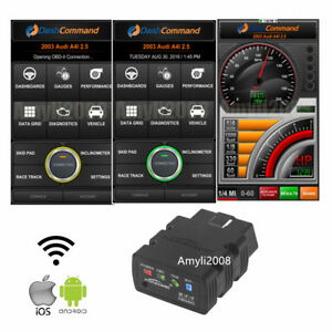 Elm327 Wifi Obd2 Obdii Car Code Reader Diagnostic Scanner For Iphone Android Pc