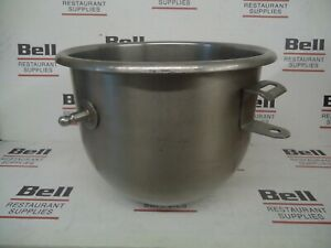 used Authentic Hobart 12 Qt Stainless Steel Mixer Bowl For 20 Qt Mixer 12vbwla