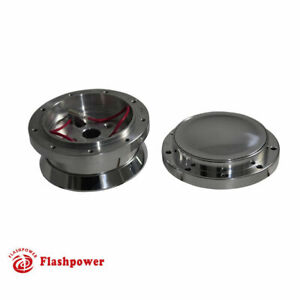 9 Bolt Steering Wheel Adapter And Horn Button Ford Mustang Polished