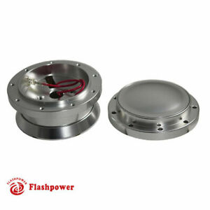 9 Bolt Steering Wheel Adapter And Horn Button Ford Mustang Satin