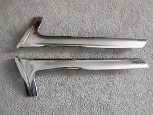 1963 Ford Galaxie 500 Fastback Exterior Windshield Trim Left Right