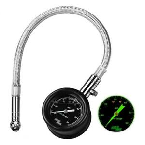 Aully Park Heavy Duty Air Tire Pressure Gauge 60 Psi Certified Ansi B40 1