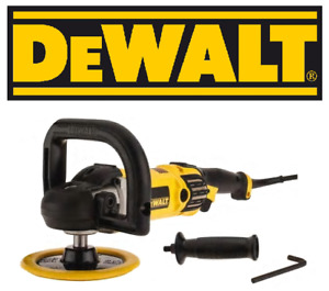 New Dewalt Buffer Variable Speed 600 3500 Rpm Includes Side And Top Handles
