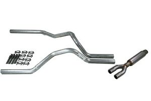 Dodge Ram 1500 Truck 09 18 2 5 Dual Truck Exhaust Kits With Glasspack