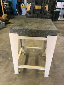 24 X 24 Precise Granite Surface Plate Table Machinist Inspection Table