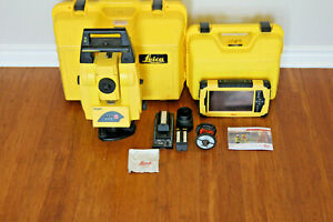Leica Icon 50 5 Icr55 Robotic Layout Survey Total Station W Cc65 Tablet