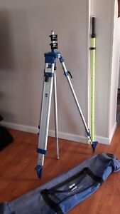 David White Pacific Crest Transit Tripod Measuring Stick Sitepro
