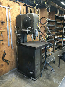 Doall 16 Vertical Bandsaw With Blade Welder Work Light