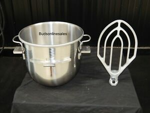 Hobart 30 Qt To 20 Qt Mixer Step Down Reducer Set Bowl Paddle