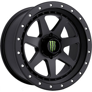 18x9 Black Wheel Monster Energy 540b 6x5 5 18