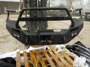 Ranch Style Heavy Duty Front Bumper Ford F250 F350 2017 2018 2019 Bb212d