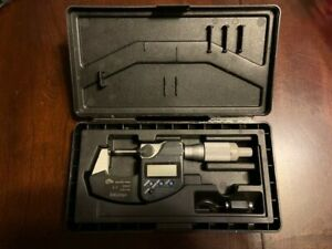 Mitutoyo Digital Micrometer 293 344 30 0 1 0 25 4mm ip65