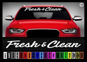 40 Fresh Clean Jdm Racing Simply Import Car Decal Sticker Windshield Banner