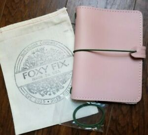 New Sold Out Rose Leather Foxy Fix A6 Lpd Jan 2019 Traveler Notebook Planner Usa