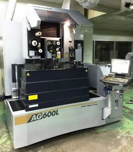 Sodick Ag600l Cnc 5 axis Wire Cut Electrical Discharge Machine New 2011