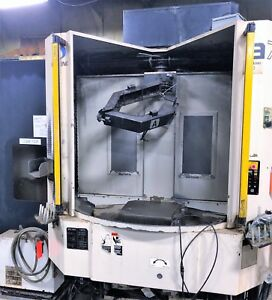 20 X 20 Pallet Makino A71 Cnc 4 axis Precision Horizontal Machining Center Ful