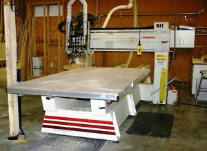 5 x10 Thermwood Model C 40 4 axis Cnc Router