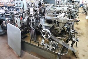 3 4 Davenport Model B 5 spindle Automatic Screw Machine