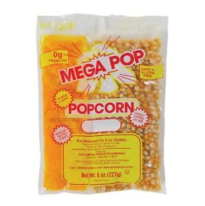 Gold Medal Mega Pop Popcorn Kit 6 Oz Kit 36 Ct