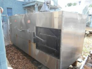 used Southern Pride Bbr 79se Large Capacity Smoker Bbq Barbeque