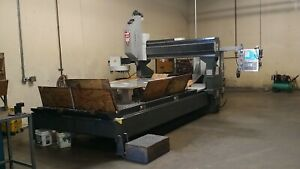 2010 Haas Gr 712 Cnc Metal Wood Gantry Router 15krpm Z24 Extend Z axis Travel