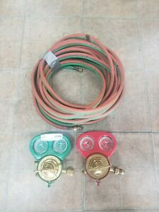 Victor Hoses And Oxygen And Acetylene Gauge Free Shipping