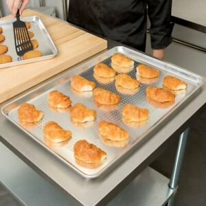 12 pack Choice 18 X 26 Perforated Full Size Aluminum Baking Sheet Pans