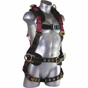 Guardian Fall Protection 11171 M l Seraph Construction Harness W Side D rings