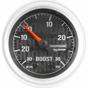 4303 09000 Autometer Boost Gauge New