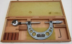 Pre owned Tesa Tesamaster Swiss Made Micrometer Ch 1020 0 4 Excellent