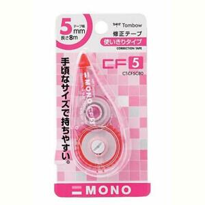 from Japan Tombow Mono Cf Correction Tape 5mm width Pink 10pcs Ct cf5c80 10p