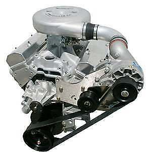 New Vortech Polished Gm Supercharger V 3 4gp218 058l Chevy Small Block 350 5 7