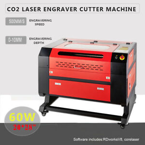 Upgraded 20 X 28 60w Co2 Laser Engraving Cutting Machine Laser Engraver Machine