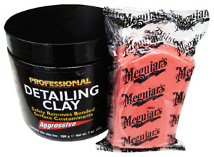 Meguiars Professional Aggressive Car Motorbike Paintwork Cleaning Clay Bar C2100
