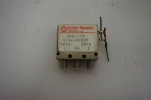 Dowkey Microwave 3106 0022f Coaxial Switch 403 115 9616 2876