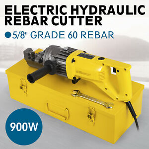 Rc 16 5 8 Capacity Hydraulic Rebar Cutter Electric Electric Round Steel Hot