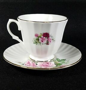 England Made Tea Cup And Saucer Royal Winchester Bone China