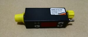 Camozzi Swd p10 pa Vacuum Switch 0 To 10 Bar pnp 1 8 Male m5 Female Thread