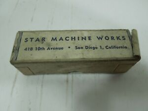 Vintage Star Reloading Cast Bullet Lubricator Sizing Die .358 & top punch in box