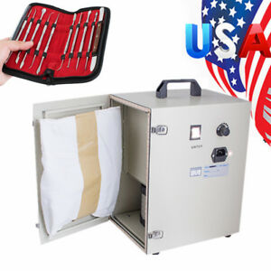Dental Dust Collector Vacuum Cleaner Fo Polishing Sandblaster wax Carving System