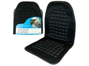 Car Seat Cushion With Back Support Durable Massage Bubbles 36 X 18 Ez Install